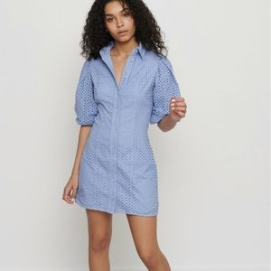 Eyelet summer dress in size XS